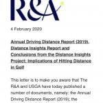 距離に関する洞察の報告